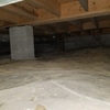 Empty healthy crawlspace