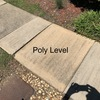 poly work needed in front of the door